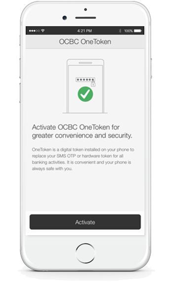 OCBC OneToken - No More SMS OTPs | OCBC Malaysia